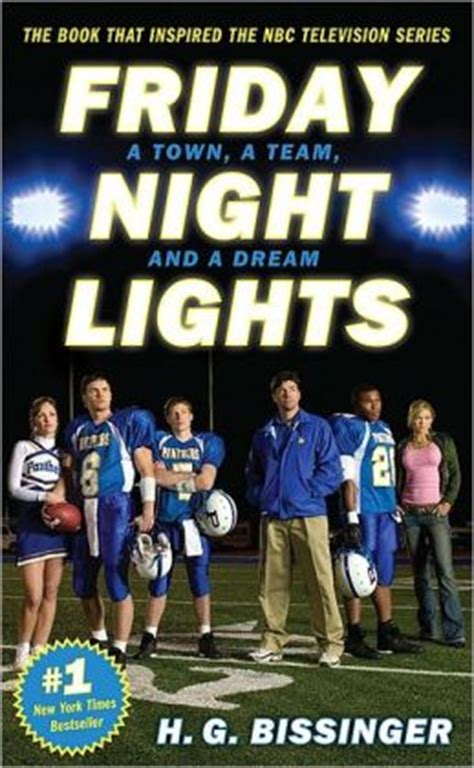 friday night lights book characters friday night lights a town a team and a dream by h g