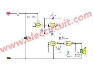 Tone Generator Circuit Projects Eleccircuit