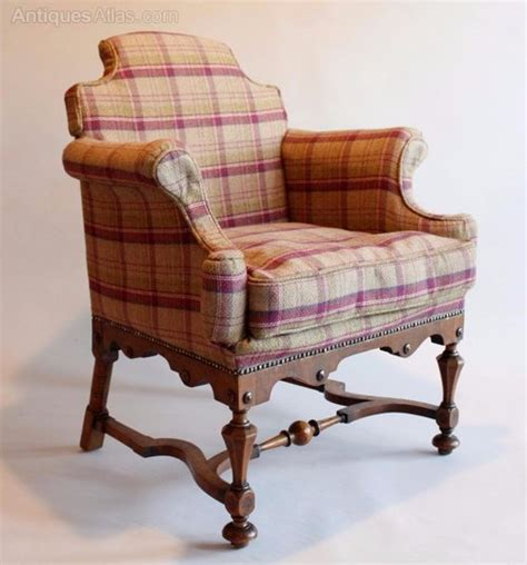 armchair uphol william style upholstered armchair antiques