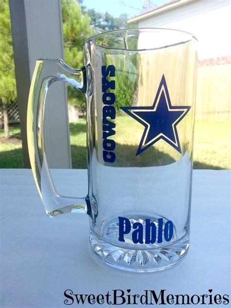 dallas cowboys beer mug color  storenvy