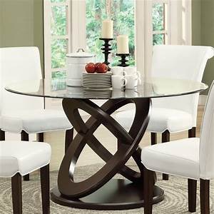 Monarch Specialties I 1749 Olympic Ring Style Dining Table