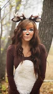 Reh Geweih Kostüm : reh kost m selber machen diy ideen anleitung sewing szycie deer halloween costumes ~ Udekor.club Haus und Dekorationen