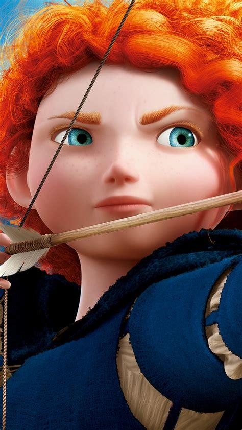 wallpaper princess merida brave animation disney