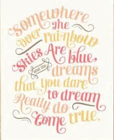 Wizard of Oz Rainbow Quotes