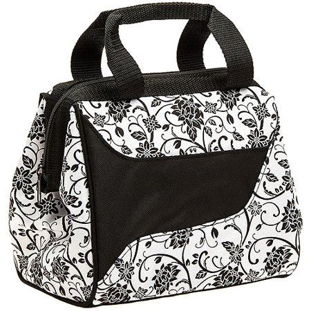 designer lunch bags fit and fresh downtown designer lunch bag in zebra with