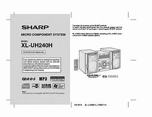 Sharp Xl  Operation Manual  U2014 View