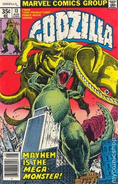 godzilla  marvel comic books