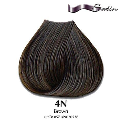 satin hair color satin hair color 4n brown hair coloring satin hair