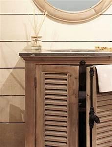 Salle De Bain En Bois : meuble salle de bain bois massif made in meubles ~ Teatrodelosmanantiales.com Idées de Décoration
