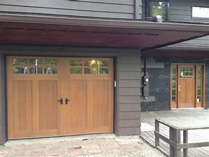Mission style makeover craftsman exterior cleveland for Craftsman style garage doors for sale