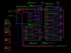 Fire Protection Diagram In Autocad