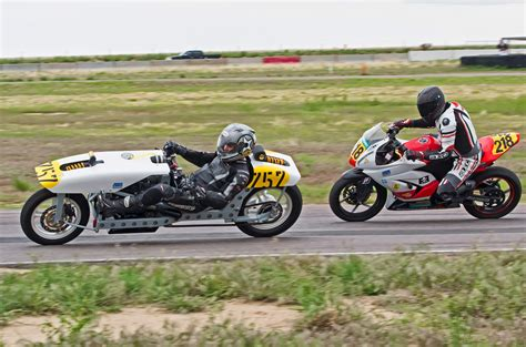 Homebuilt Recumbent Motorcycle Racer Competes In Mra