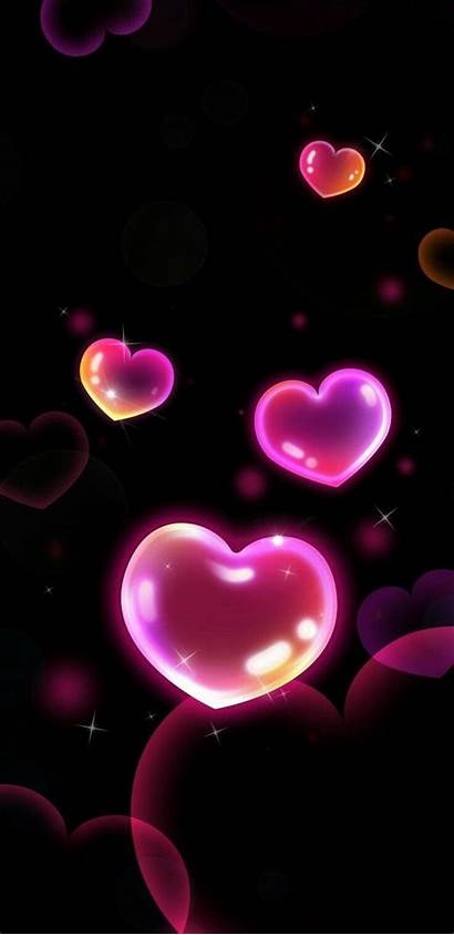 Heart Iphone Bubbles Unknown Hearts Galaxy Phone