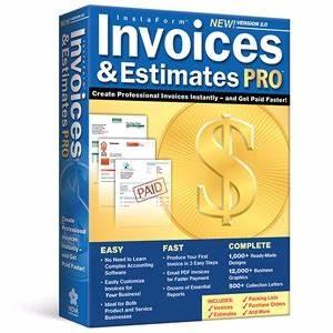 Invoices estimates pro 20 at tigerdirectcom for Invoices estimates pro