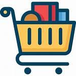 Icon Shopping Compras Icons Ikon Carrinho Cartoon