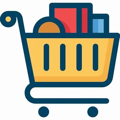 Shopping Icon Compras Icons Ikon Cartoon Carrinho
