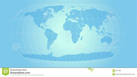 sky blue world map royalty  stock images image