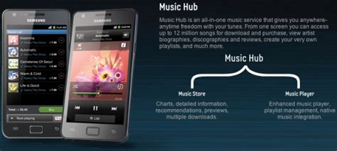 Samsung Galaxy S2 Music Hub Advertising Under Fire