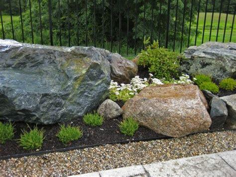 Große Steine Garten by Gro 223 E Steine Als Deko F 252 R Den Garten 53 Erstaunliche