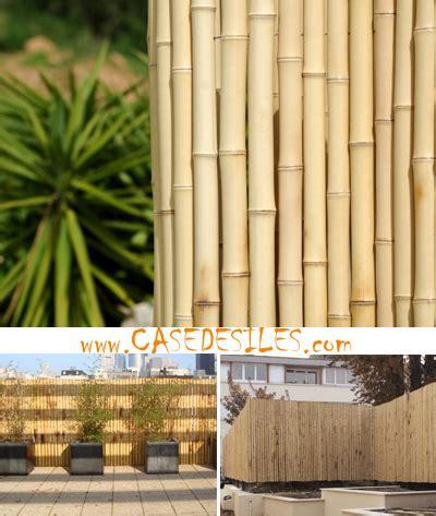 cloture en bambou cloture bambou regulier casedesiles