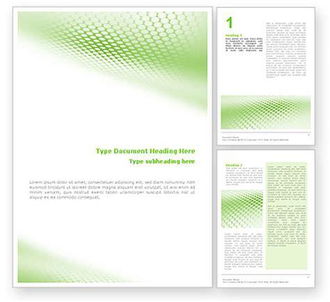 free template word green grid word template 01585 poweredtemplate