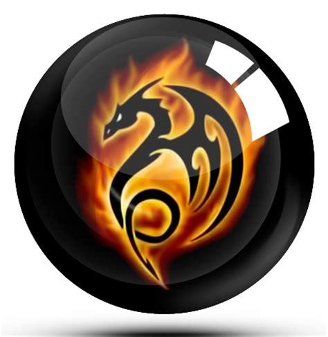 Black DRAGON glass ball by abcice on DeviantArt