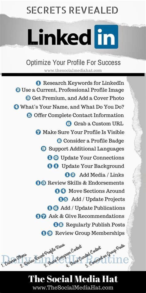 the ultimate guide to a linkedin profile success