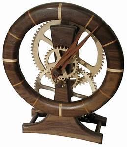 Wooden Gear Clock - Chuck Hays