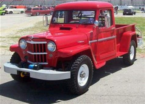 1962 willys jeep pickup 1962 willys jeep pickup truck sweet rides pinterest