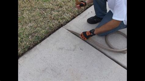 Sidewalk expansion Joints are safe again by GapArmour.com