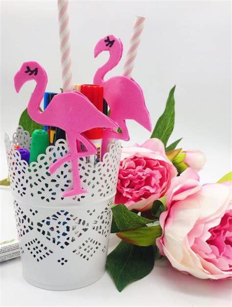 drei einfache bastelideen mit flamingos