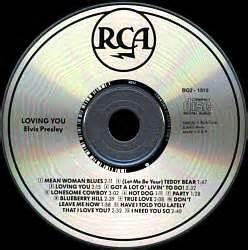 Bmg Cd Club by Loving You Usa 1997 Crc Bmg Bg2 1515 Elvis Cd