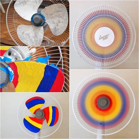 diy creative rainbow fan