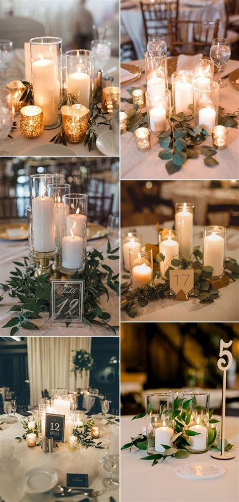 25 Budget Friendly Simple Wedding Centerpiece Ideas with