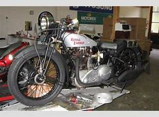 1929 Royal Enfield 500cc Twinport Classic Motorcycle Pictures