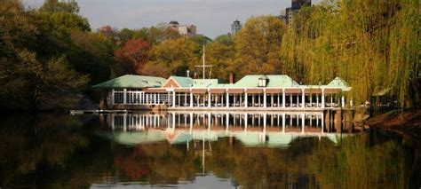 Boathouse Central Park Reservations by The Loeb Boathouse