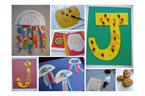 letter j art projects for preschoolers letter of the week j theme no time for flash cards 557