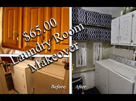 Dirt Cheap Laundry Room Makeover! Youtube