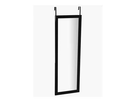 miroir de porte 110x36 cm class coloris noir conforama