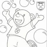 Whufc sketch template
