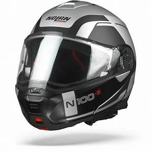 Nolan N100 5 Consistency Flat Silver N Com 021 Xl