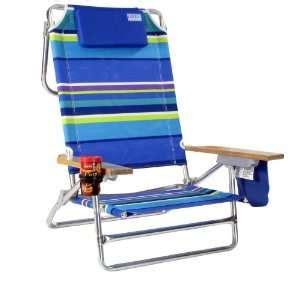 blue folding beach chair fishing cooler dolly wagon cart