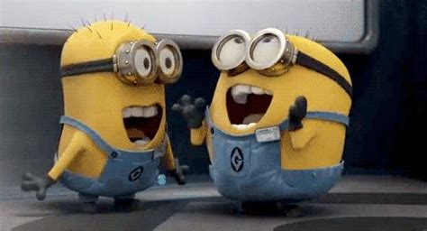 excited minions blank meme template imgflip