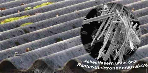 asbest dämmung erkennen eternit asbest erkennen was ist das asbest eternit