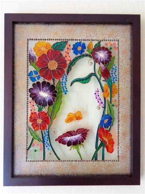 beautiful glass painting ideas  designs  beginners