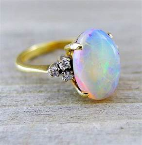 how to choose opal and diamond engagement rings With opal and diamond wedding rings