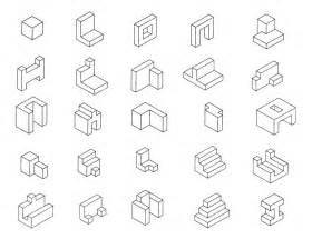Drawing 3D Shapes On Isometric Dot Paper