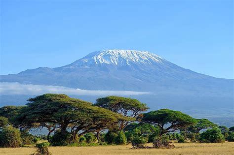 mount kilimanjaro worldatlascom