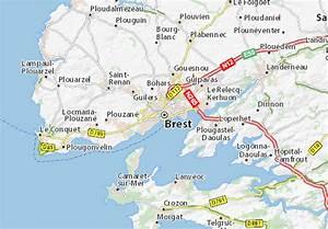 Michelin Karten Frankreich : karte stadtplan brest viamichelin ~ Jslefanu.com Haus und Dekorationen