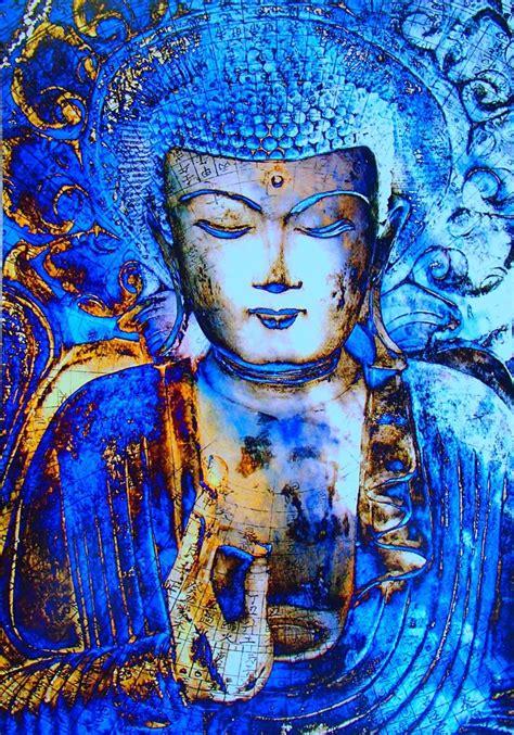 buddha painting buddhist buddhism zen meditation diamond buda yoga cross paintings start gautama mindfulness did kits budismo canvas arte lama